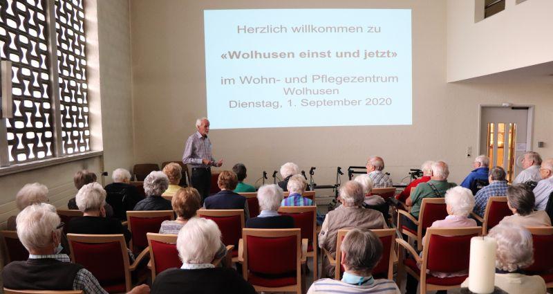 """Berghof-Ferien 2020: Geschichten über """"Wolhusen einst und jetzt"""" mit Willi Wey (Forum für Geschichte)"""