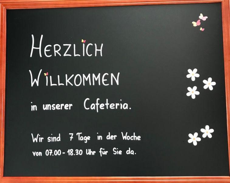 Umbau Cafeteria