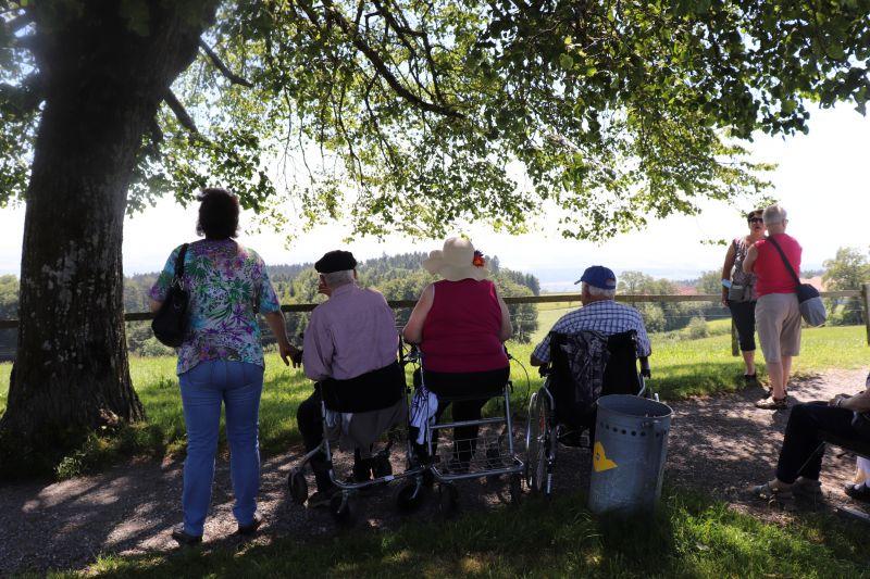 Bewohnenden-Ausflug auf den Aussichtpunkt Horben, 24. Juni 2019